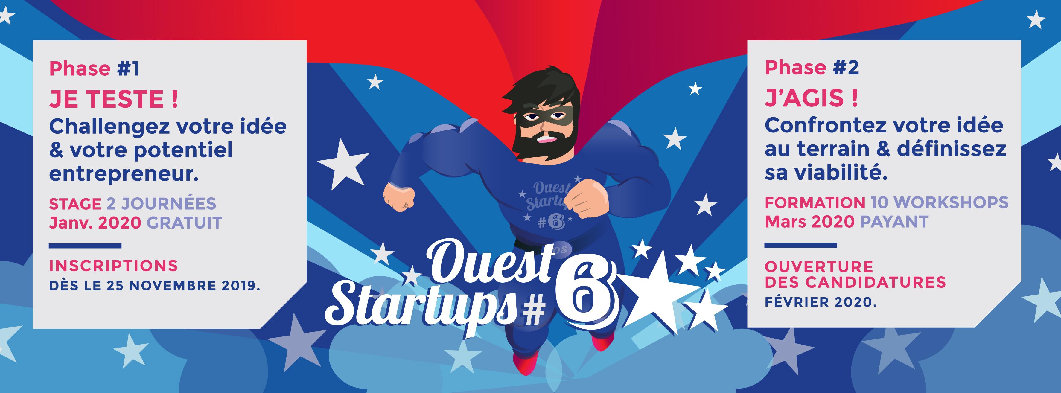 Idée De Photo De Profil ouest startups #6, 2 phases pour accélérer votre idée