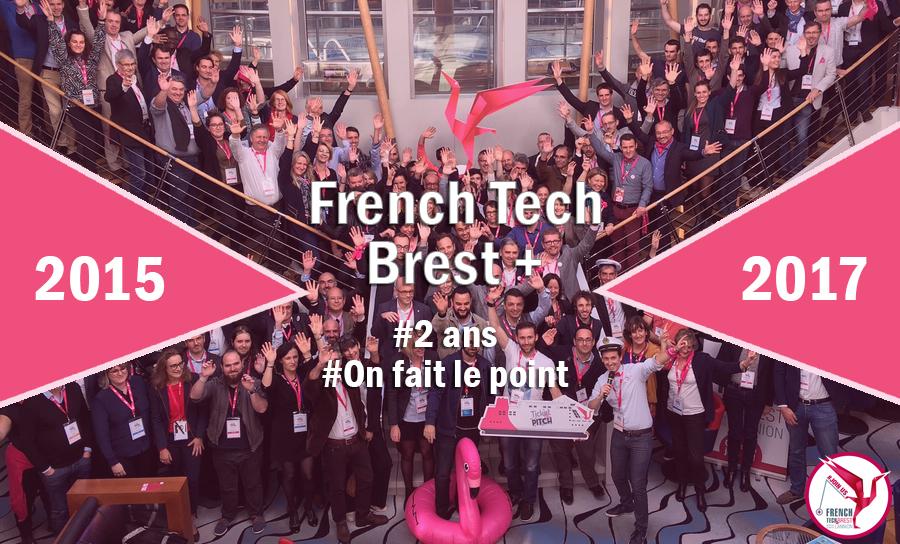 La French Tech Brest + [Lannion, Quimper, Morlaix] deux après.