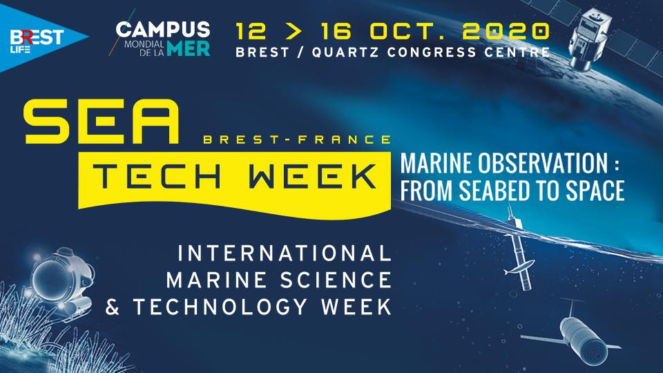 La Sea Tech Week® 2020 sera organisée en virtuel