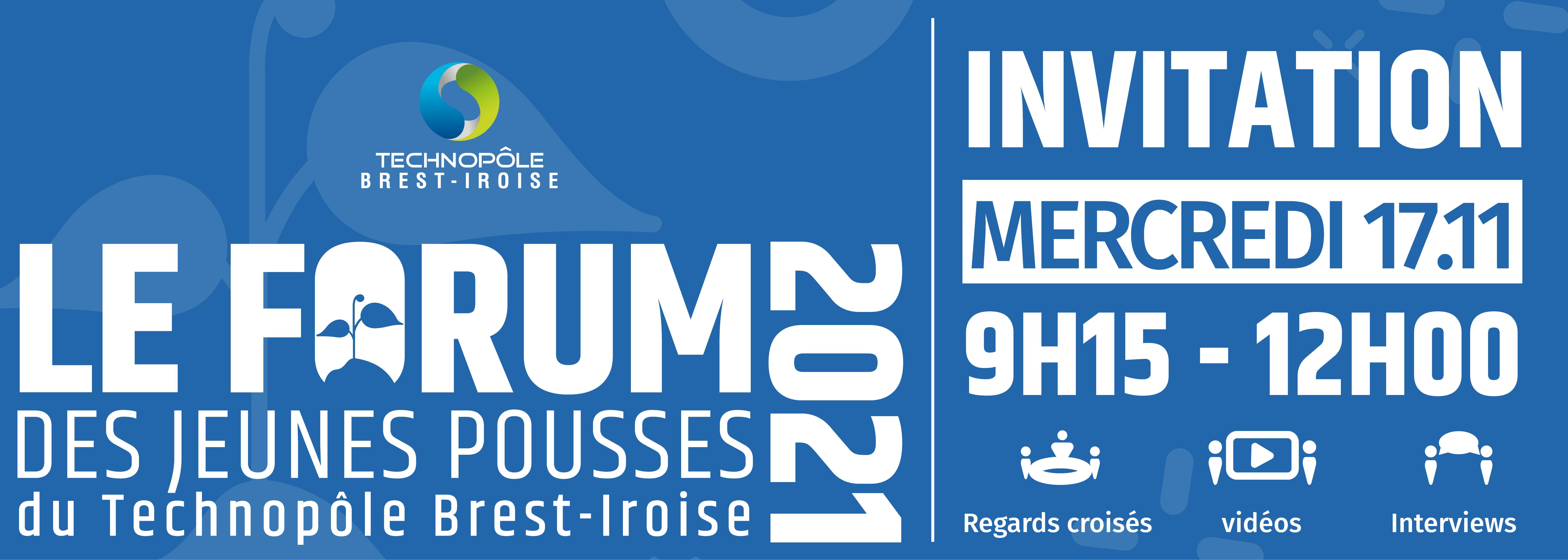 Le Forum des Jeunes Pousses du Technopôle. 1ère édition le 17 novembre