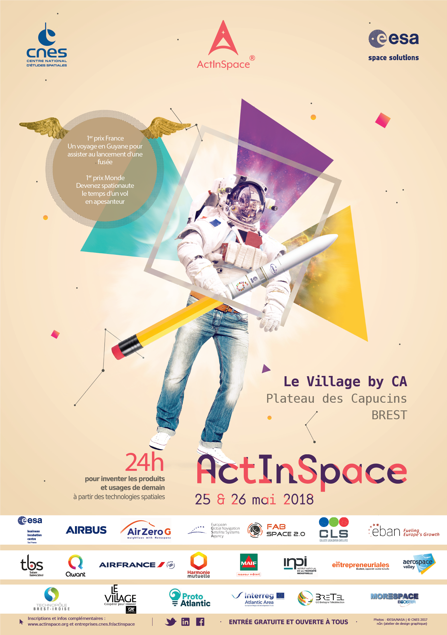 Concours Act In Space - Les 25 & 26 mai 2018 !