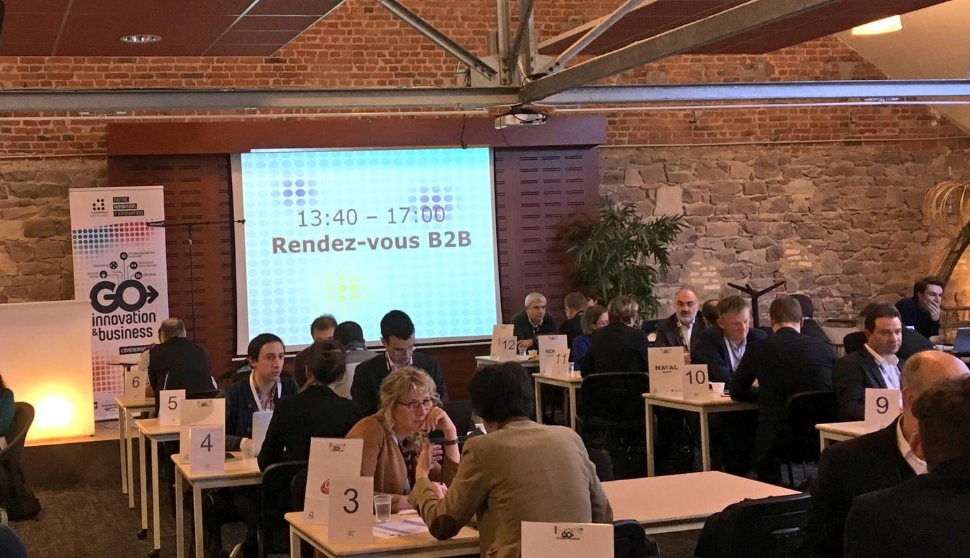 GO Innovation Business des 7 Technopoles Bretagne. Succès pour cette 1ère édition