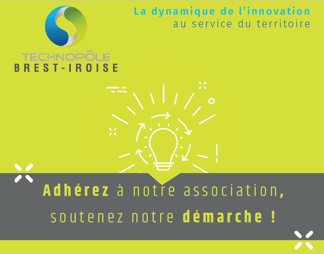 Soutenez notre démarche et adhérez à l'association du Technopôle Brest-Iroise