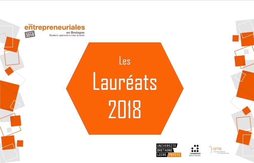 Entrepreneuriales Bretagne Pays de la Loire. Les lauréats 2018 // 2 projets accompagnés par le Technopôle