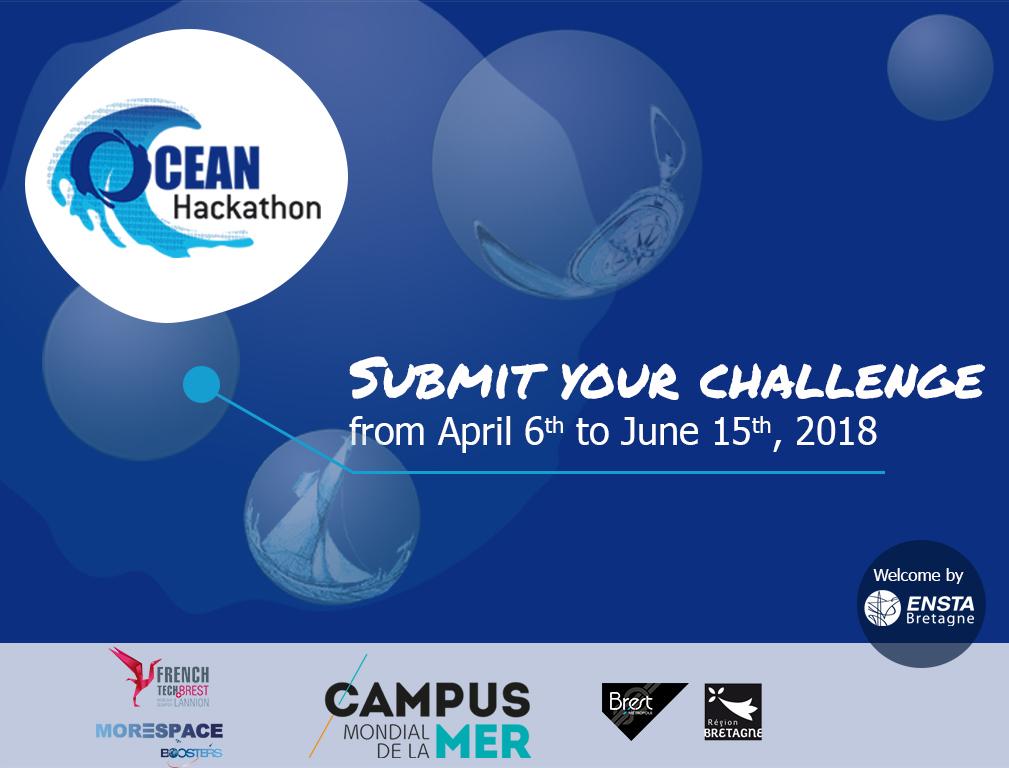 Ocean Hackathon #3 | Appel à défis ouvert