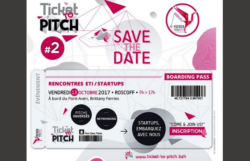 Save the date du Ticket to pitch !