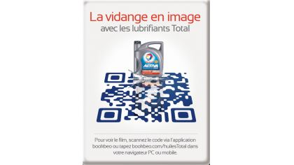 Total Lubrifiants teste le packaging intelligent