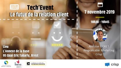 Tech'Event : Le futur de la relation client